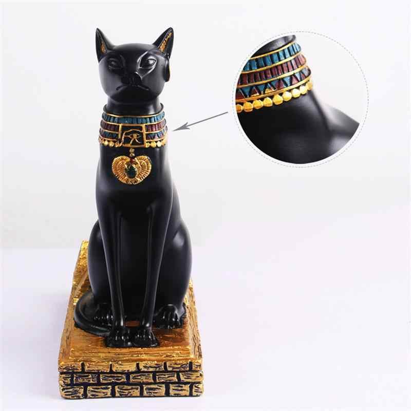 בציר מעשי Creative אופנה חתול מצרי יין מתלה יין מחזיק בקבוק יין מדף בית קישוטים לבית מטבח