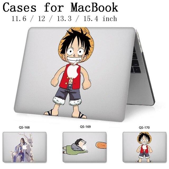ラップトップのためのノー macbook 13.3 インチ 15.4 Macbook Air Pro の網膜 11 12 ケースとスクリーンプロテクターキーボード入り江