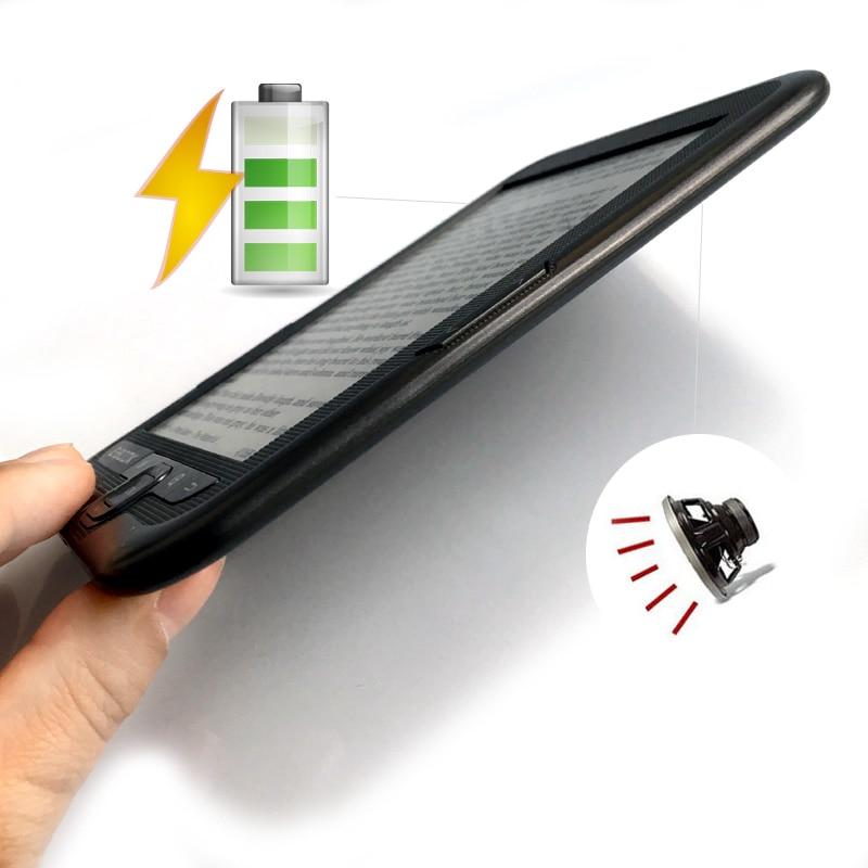 Lecteur e-book numérique 6 pouces e INK mémoire 16 go intégrée et prise en charge de la carte SD 800*600 lecteur d'écran d'encre lecteur Mp3 - 3