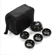 5PCS High Quality Portable Environmental Protection Travel Tea Set Creative Kungfu Service With Bag