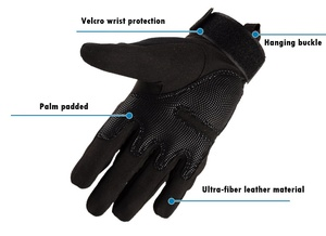 Image 3 - Tactical gloves Hard Knuckle Full Finger Gloves Men Airsoft Paintball Hunting Shooting Special Army Military Combat Police Duty