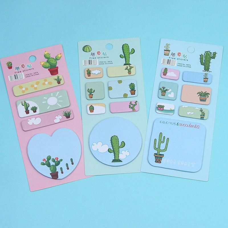 Notebooks & Writing Pads Cartoon Corgi Dog Pig Panda Alpaca Memo Pad N Times Sticky Notes Escolar Papelaria School Supplies Bookmark Label