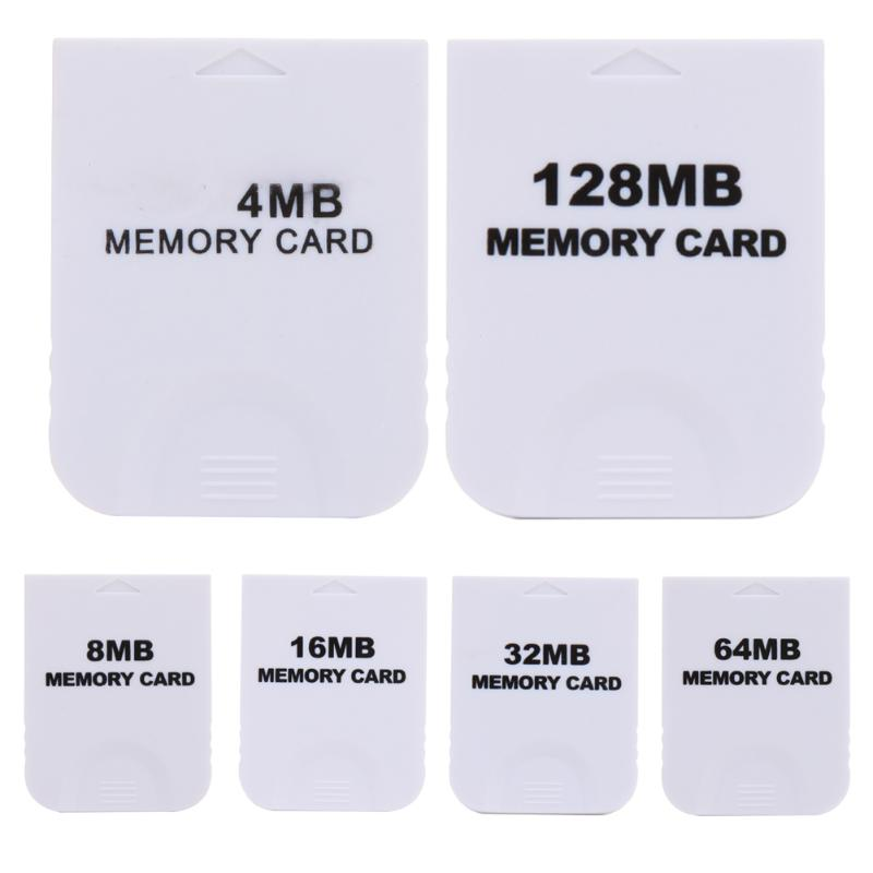Practical Memory Card for Nintendo Wii Gamecube GC NGC Game White NEW The Memory Card For Wii Console Easy to use
