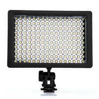 Chats Lightdow LD-160 9,6W encastré LED illuminateur 160 5400/3200 K Dimmable pour appareil photo Canon