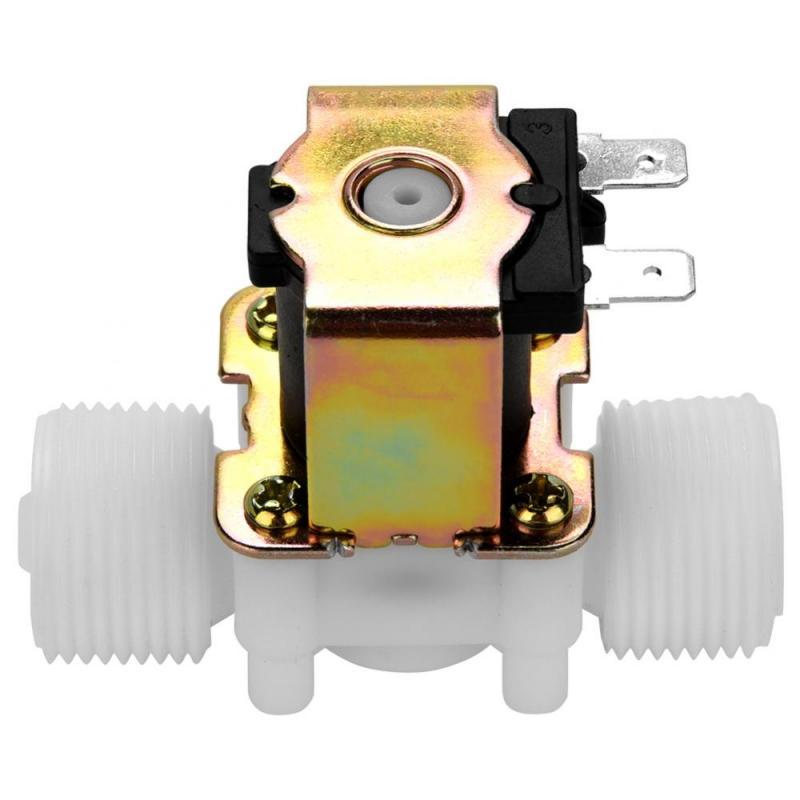 Ventil Heimwerker Dc 12 V Dn20 G3/4 kunststoff Elektromagnetische Ventil Normal Geschlossen Wasser Einlass Schalter Werkzeug