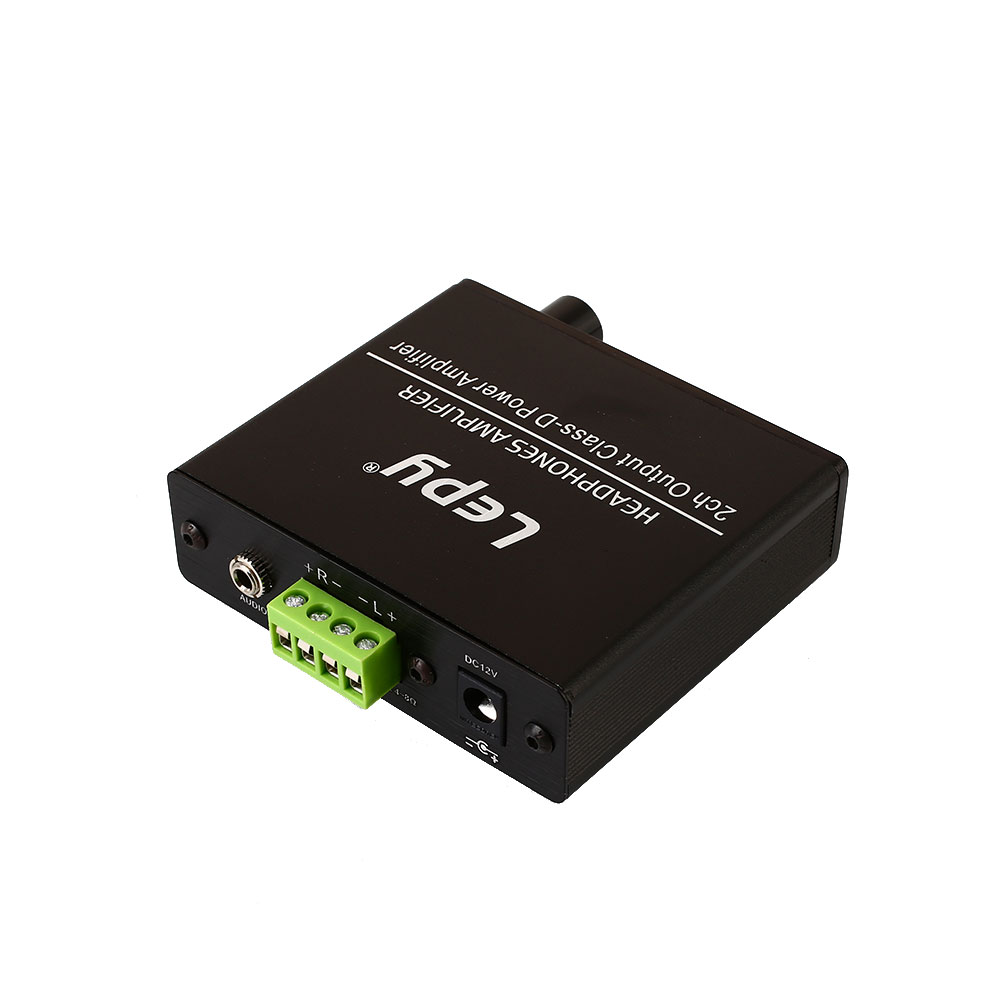 VEHEMO Black Hi-Fi Car Amplifier Audio Amplifier Motorcycle Player AMP Universal Power Amplifier Automobile Music