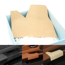 Driver Side Cow Leather Door Armrest Handle Pull Protection Cover for BMW 3 Series E90 2005 2006 2007 2008 2009 2010 2011
