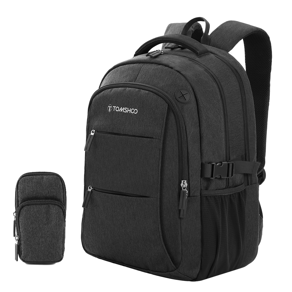TOMSHOO Anti theft Bag Travel Backpack for Men Women Large Capacity Laptop College Student School Shoulder