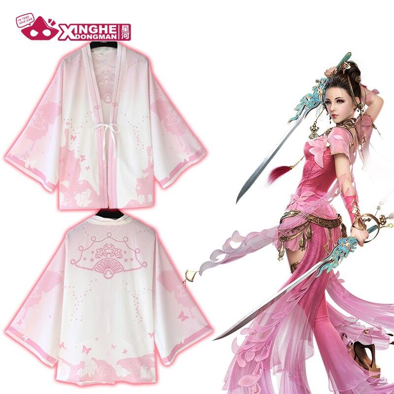 Milky Way Anime Haori Traditional Kimono Pajamas Jianxiaqingyuan Jian Wang 3  Qixiu Qi Xiu Chinese Traditional Style Haori