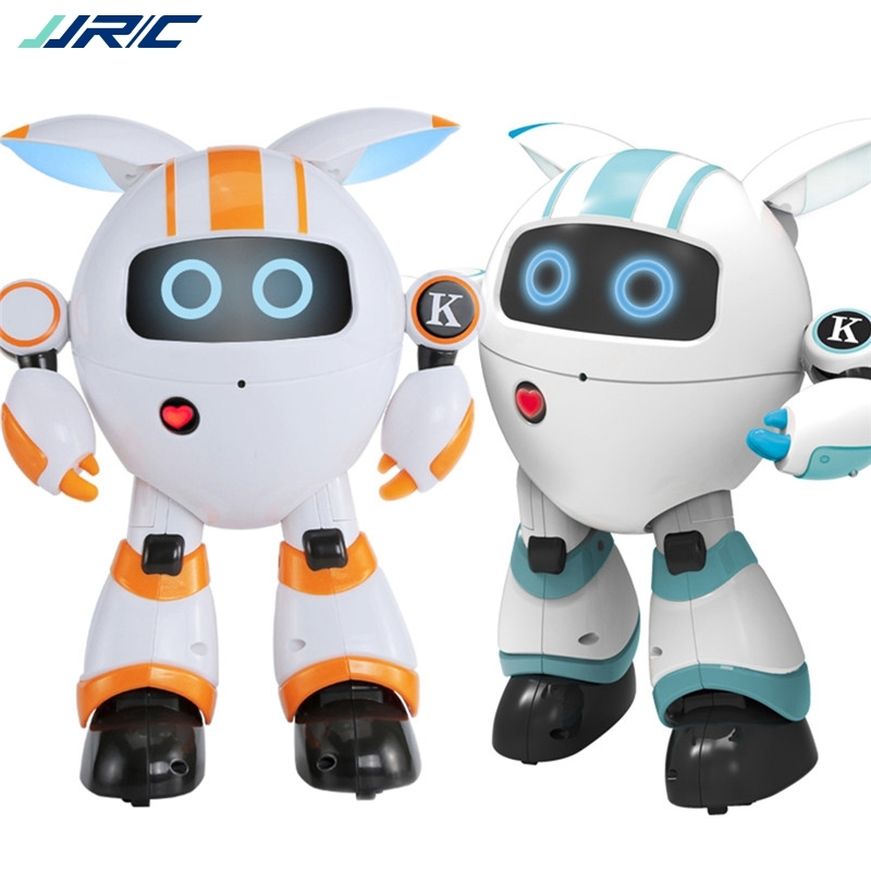 Jjrc R14 Kaqi yoyo 2 4g Smart Rc Robot Programmable Sing Tell Story Shining Light Robot Toy 110 130mins Uesing Time Mini Robot in Action Toy Figures from Toys Hobbies
