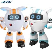 Jjrc R14 Kaqi-yoyo 2.4g Smart Rc Robot Programmable Sing Tell Story Shining Light Toy 110-130mins Uesing Time Mini