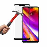 For LG G7 ONE G7 Fit f7 fit+ Full Coverage 0.3MM 2.5D 9H Tempered Glass Screen Protector Anti-Scratch Film for LG LCD Guard Film