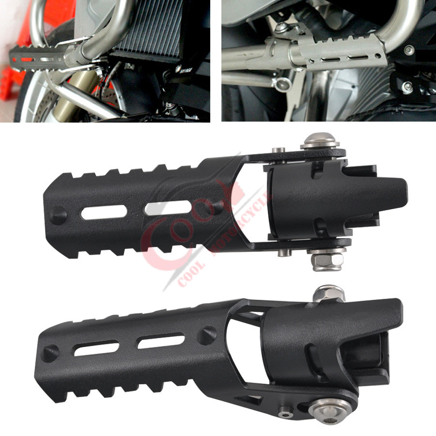 Highway Front Pegs Footrests Foot Pegs 25mm Pedal for BMW R1200GS LC 2013-2017