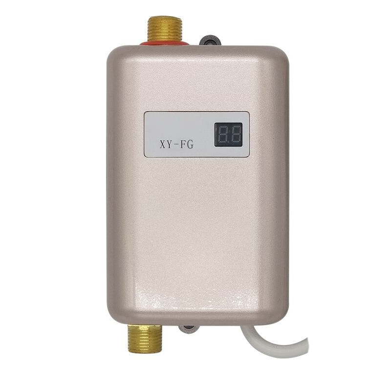 3800W 10A Mini Electric Tankless Instant Hot Water Heater Bathroom Kitchen Wash3800W 10A Mini Electric Tankless Instant Hot Water Heater Bathroom Kitchen Wash