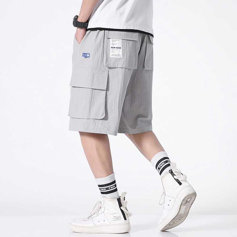 Men's Clothing Friendly Summer Cotton Japanese Tooling Shorts Mens Tide Brand Yu Wenle Large Size Loose Five Youth Student New Streetwear