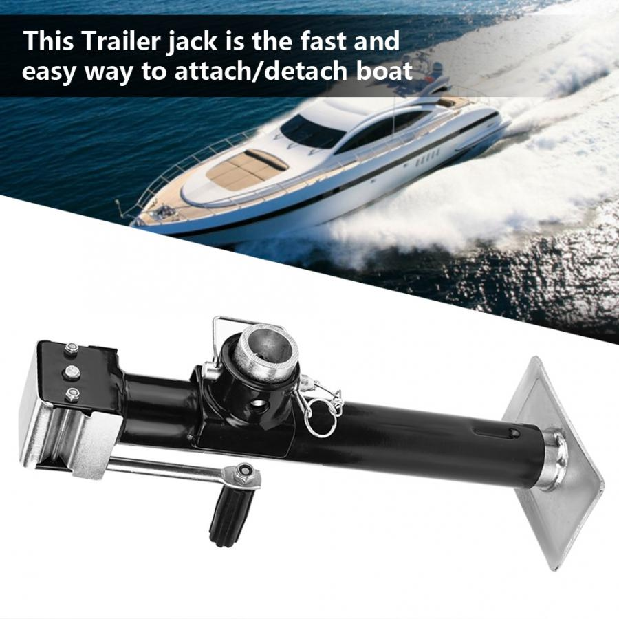 US $26 82 26% OFF|Trailer Jack 5000 lbs Yacht Trailer Parts Caravan Jack  Jockey Wheel Heavy Duty Metal Stand For Boats RV's Campers and Trailers-in