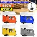 Máquina Roda de oleiro 25 centímetros AC 220 V 550 W Flexível pedal Manual do Trabalho Em Cerâmica Cerâmica Argila Arte Com Móvel suave e Baixo Ruído