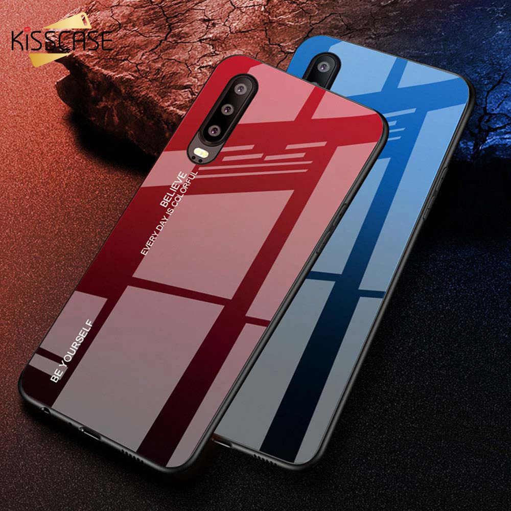 KISSCASE de funda del teléfono para Huawei P30 P20 P10 Pro encendido amigo 20 10 Lite P Smart de templado de vidrio de caso por Honor 10 9 Lite 8X
