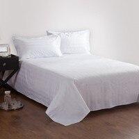 Pure room bedding wholesale sheets/bed li 3cm satin strip bed sheet
