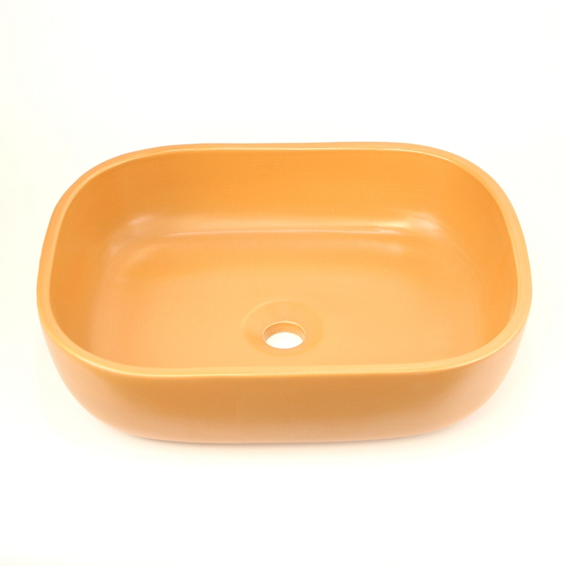 High Quality Ceramic Basin For Bathroom Hand Made Soap Box Shape Design Porcelain Bathroom Sinks in Bathroom Sinks from Home Improvement