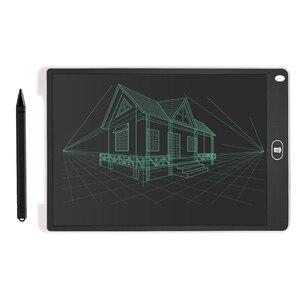 12-дюймовые игрушки для рисования, ЖК-планшет для письма, детская доска для письма, подарок, стирается, планшет для рисования, электронный без...