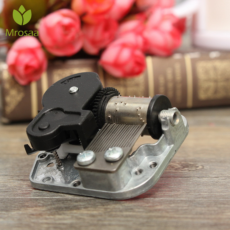 US $1 79 10% OFF|Aliexpress com : Buy Hand Crank Music Motor Mini Music Box  DIY Music Boxes Movement Caskets For Doll House Dollhouse Accessories City