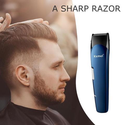 Beard Trimmer  Kemei 5 in 1 Portable Hair Trimmer Titanium Hair Clipper Electric Shaver Pro Hair Cutting Machine Lahore