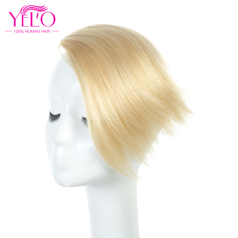 YELO Indian Human Hair Bangs Remy Fringe Clip Hair Piece 6 Color Style On Bangs 100% Natural Hair One Piece Free Shipping(China)