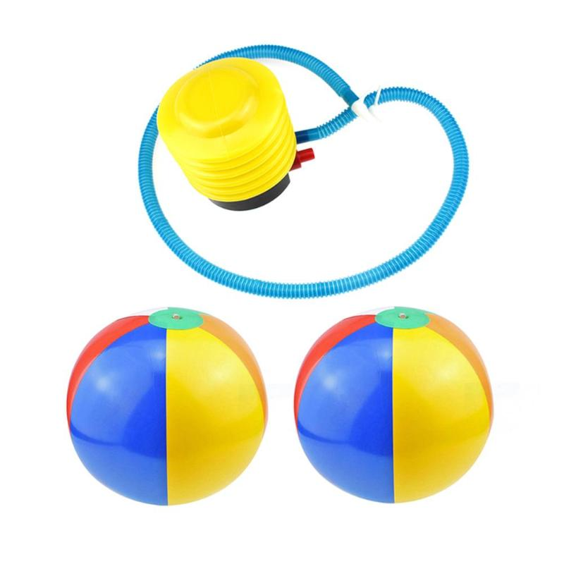1pc Colorful PVC Inflatable Ball Toy Kids Sand Play Water Fun Toys Outdoor Play Balls Sports Swimming Water Beach Game Ball Toys