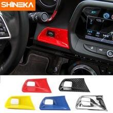Shineka накладка кнопки запуска двигателя без ключа для chevy