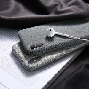 Image 4 - CASEIER מגניב מקרה עבור iPhone XR Xs מקסימום 7X8 6 6s בתוספת רך בד Textrue כיסוי עבור iPhone 11 8 7 6S 6 בתוספת המקורי Funda Coque