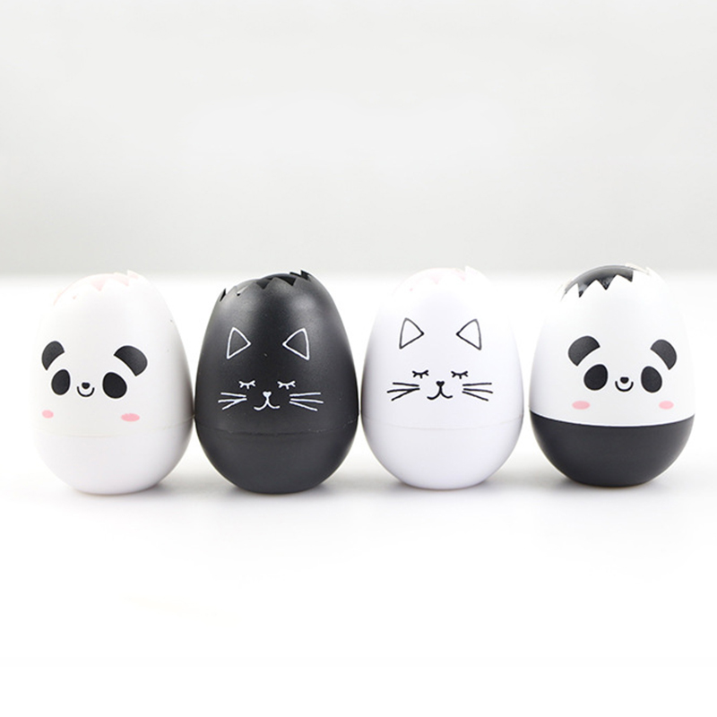 Kawaii Egg Correction Tape 5mm*4m Cartoon Animal  Decorative Corrector Tools For Kids School Supplies Cute Korean Stationery