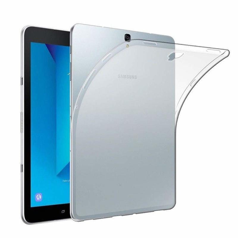 Case For Samsung Galaxy Tab A 8.0 2017 SM-T380 SM-T385 Cover 360 Full Protective Soft TPU Cover Clear Back Slim Cases T380 T385