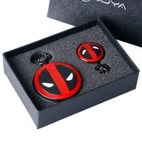 Vintage Pocket Watch Quartz American Comic Badass Deadpool Theme Fob Watches Women Necklace Chain Clock Pendant Christmas Gifts