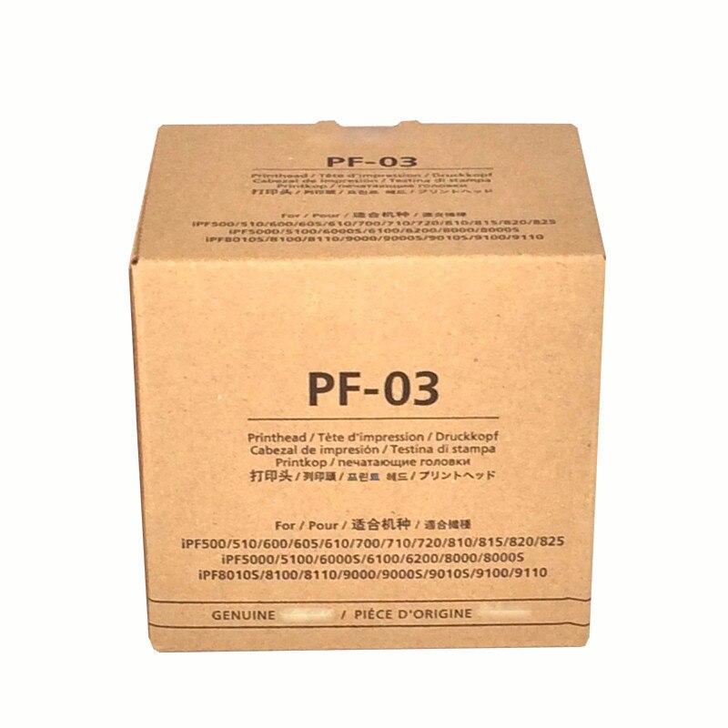 Bilgisayar ve Ofis'ten Yazıcı Parçaları'de PF03 pf 03 pf 03 yeni orijinal Pinthead Canon memesi IPF 655 755 650 PF 03 iPF8010s/8000/815/ 510/710/605/610 baskı kafası