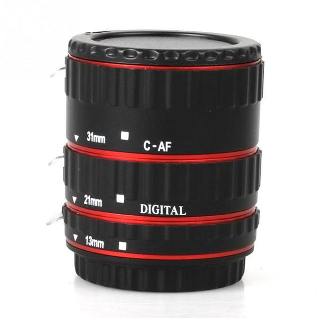 Metal Mount Auto Focus AF Macro Extension Tube/Ring for Kenko Canon EF-S Lens T5i T4i T3i T2i 100D 60D 70D 550D 600D 6D 7D