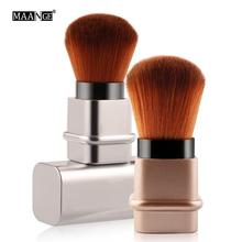 цена на Power Blush Multi-functional Professional Telescopic Blush Makeup Brush Retractable Brush Makeup Brushes