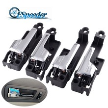 ESPEEDER Auto Exterior Outside Door Handle Front Left Driver For Lincoln MKZ For Zephyr 2006 For Ford Fusion For Mercury Milan
