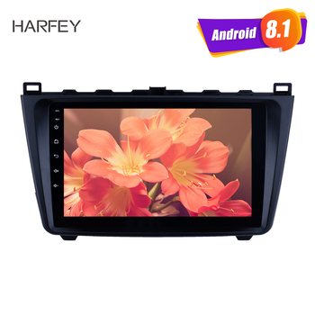 Harfey 9 inch Android 8.1 stereo Car Radio 2DIN For Mazda 6 Rui wing 2008-2014 Multimedia Player GPS Navi Head Unit bluetooth image