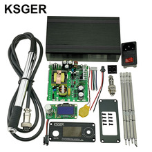 KSGER V2.1S паяльная электрическая T12 STM32 OLED цифровая температура паяльная станция контроллер сварочные инструменты