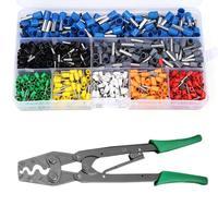 Adjustable Terminal Crimping Plier 365mm High carbon Steel Crimping Pliers Terminals Cold Press Plier Cutter Repair Handlel Tool