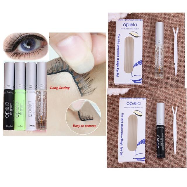 Pegamento de pestañas de secado rápido de 5 ml adhesivo doble ocular extensión de pestañas maquillaje de belleza Kit de elevación de pestañas envío gratis TSLM2