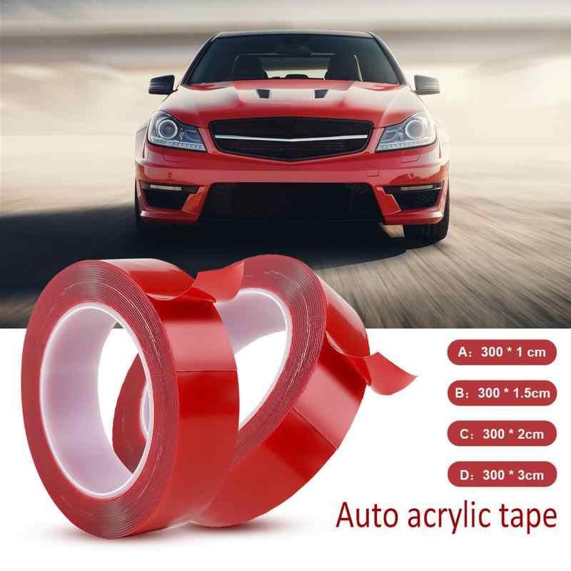 Transparante Dubbelzijdige Tape Huishoudelijke Wandkleden Lijm Lijm Tape Stiker Mobil Auto Plakband 15 Mm X 3 M, 30 Mm X 3 M