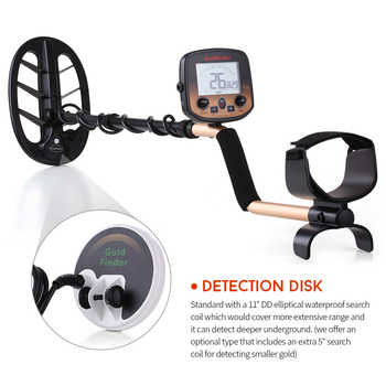 Professional Metal Detector FS2 Underground Depth 3m/ Scanner Search Finder Gold Detector Treasure Hunter Detecting Pinpointer