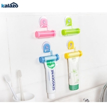 Rolling Squeezer Toothpaste Dispenser Tube Sucker Holder Dental Cream Bathroom Accessories Manual Syringe Gun Dispenser стоимость