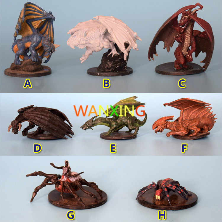 <font><b>1/48</b></font> Scale Models Dragon And Dungeon DND <font><b>Resin</b></font> Figure Series Board Game Model DIY Toys For Children Free Shipping image