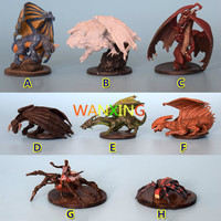 1/48 Scale Models Dragon And Dungeon DND Resin Figure Series Board Game Model DIY Toys For Children Free Shipping