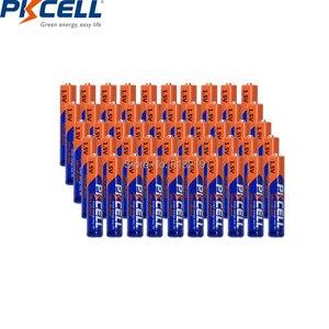 Image 2 - 100Pcs Pkcell Aaaa LR61 AM6 MN2500 E96 4A 1.5V Aklaine Batterij Primaire En Droge Batterij Voor Stylus Pen camera Flash Scheerapparaten