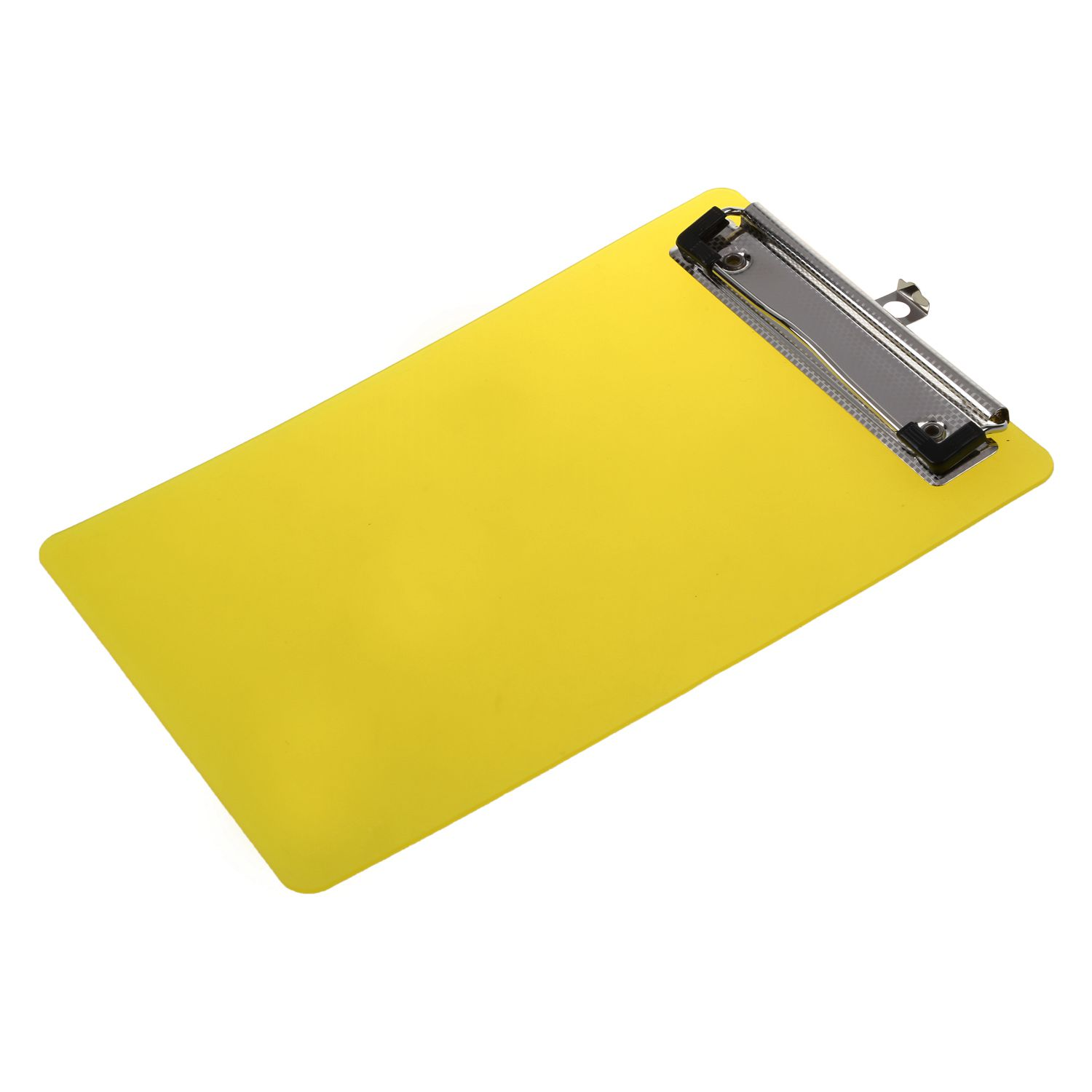 Plastic A6 Clipboard Folder With Lid Clipboard Orange