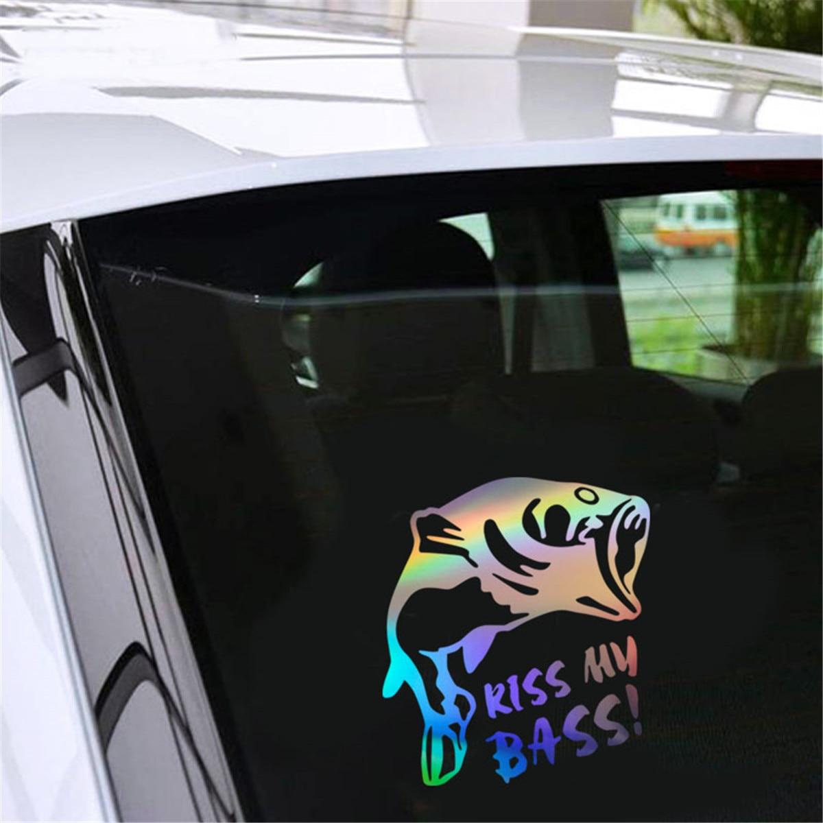 REF NO 5 Bass Fishing Vinyl Stickers decals,car,window,van Laptop